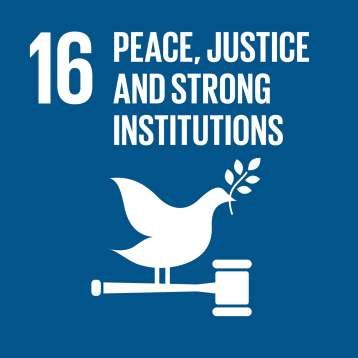 Goal 16: Promote just, peaceful and inclusive societies